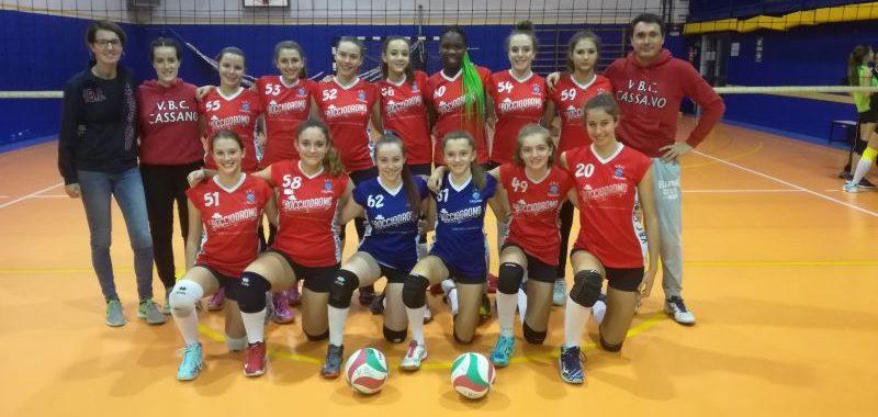 La nostra U16 Rossa vince il girone D