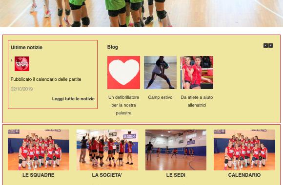 Il nuovo sito della VBC Cassano