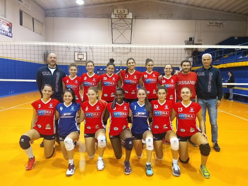 Serie D – HYDRA Cassano – Progetto Volley Orago/UYBA 3-1