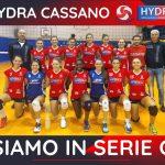 la vbc Cassano conquista la serie C