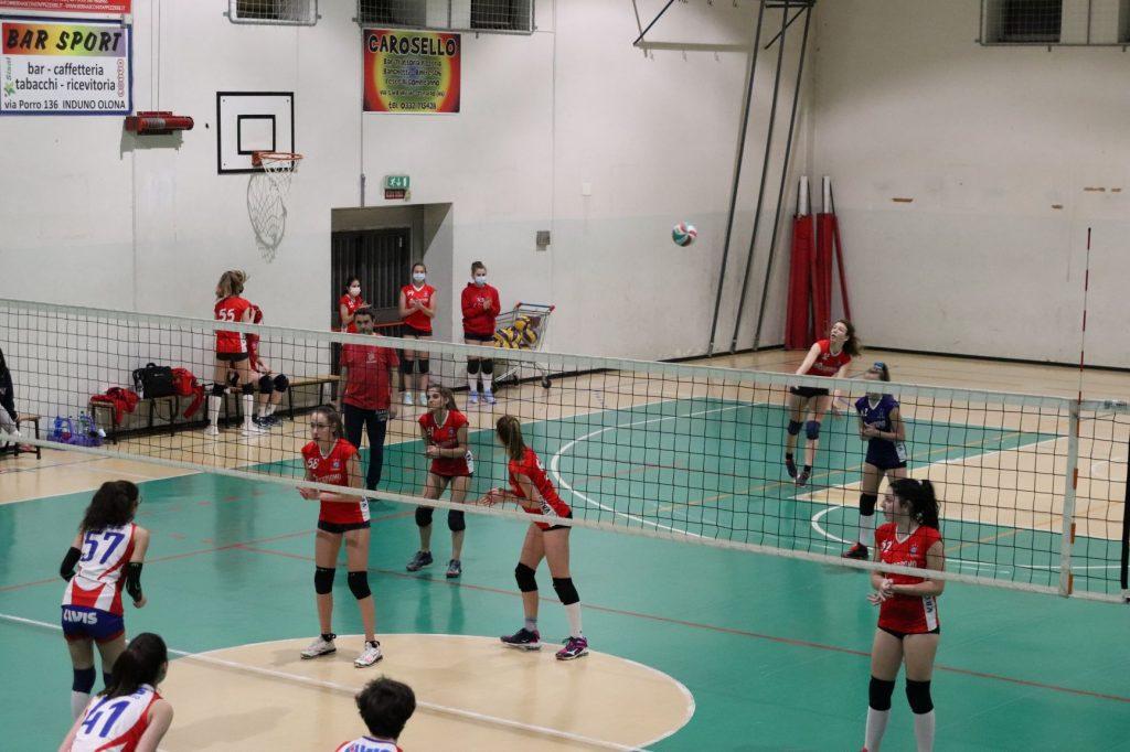 Sali e scendi della Under 15 contro il Vivi Volley