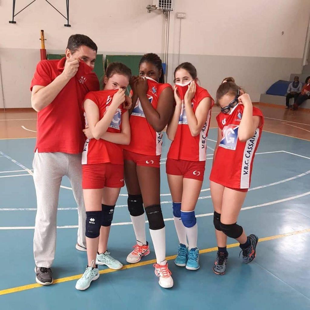 Grandi soddisfazioni dalle giovani della U12