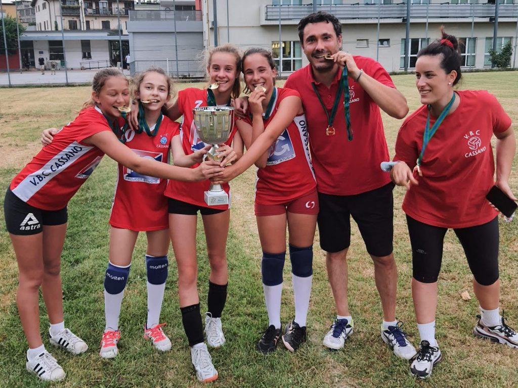 Campionesse regionali! la nostra Under 12 vince le regionali e accede alle fasi nazionali di Assisi